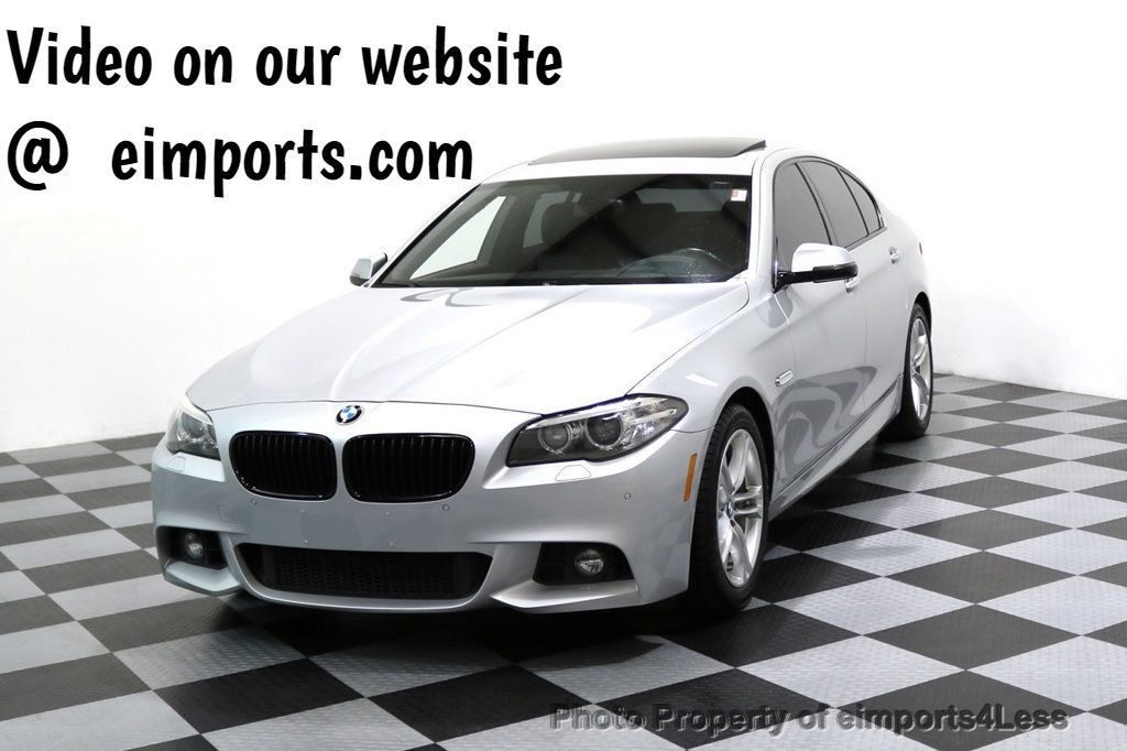 2015 BMW 5 Series CERTIFIED 528i xDRIVE M Sport AWD CAMERA HK NAVI - 17581575 - 0