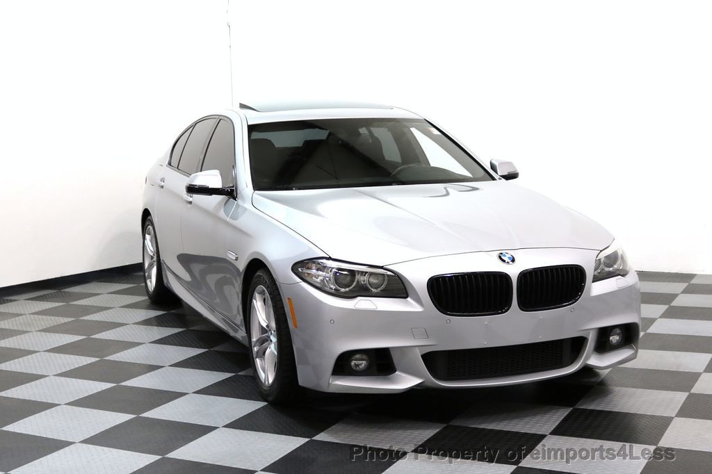2015 BMW 5 Series CERTIFIED 528i xDRIVE M Sport AWD CAMERA HK NAVI - 17581575 - 1