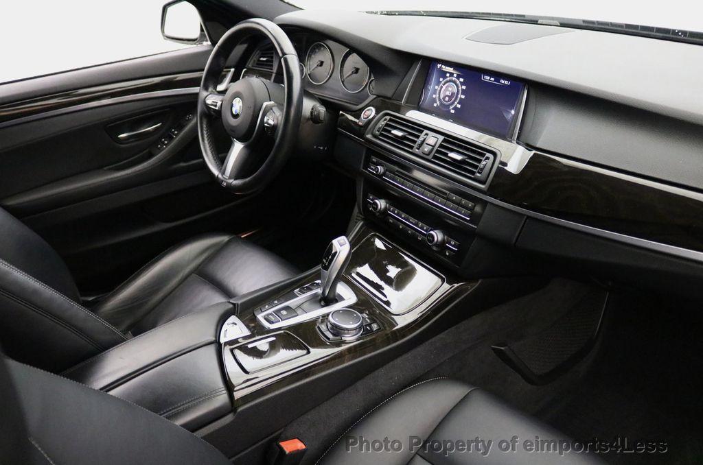2015 BMW 5 Series CERTIFIED 528i xDRIVE M Sport AWD CAMERA HK NAVI - 17581575 - 27