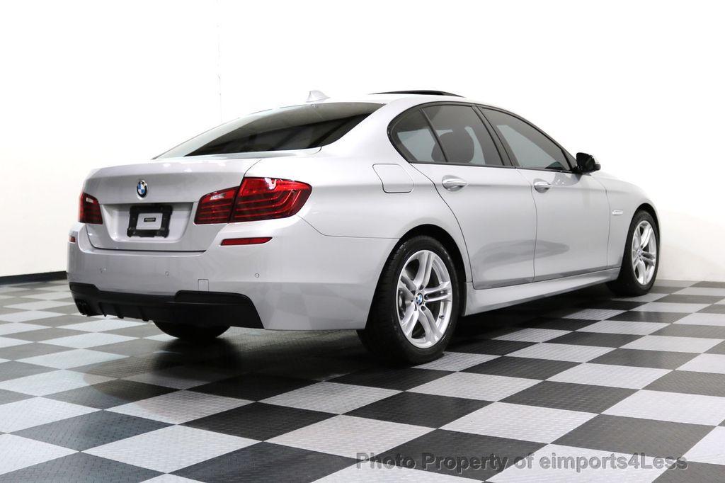 2015 BMW 5 Series CERTIFIED 528i xDRIVE M Sport AWD CAMERA HK NAVI - 17581575 - 53