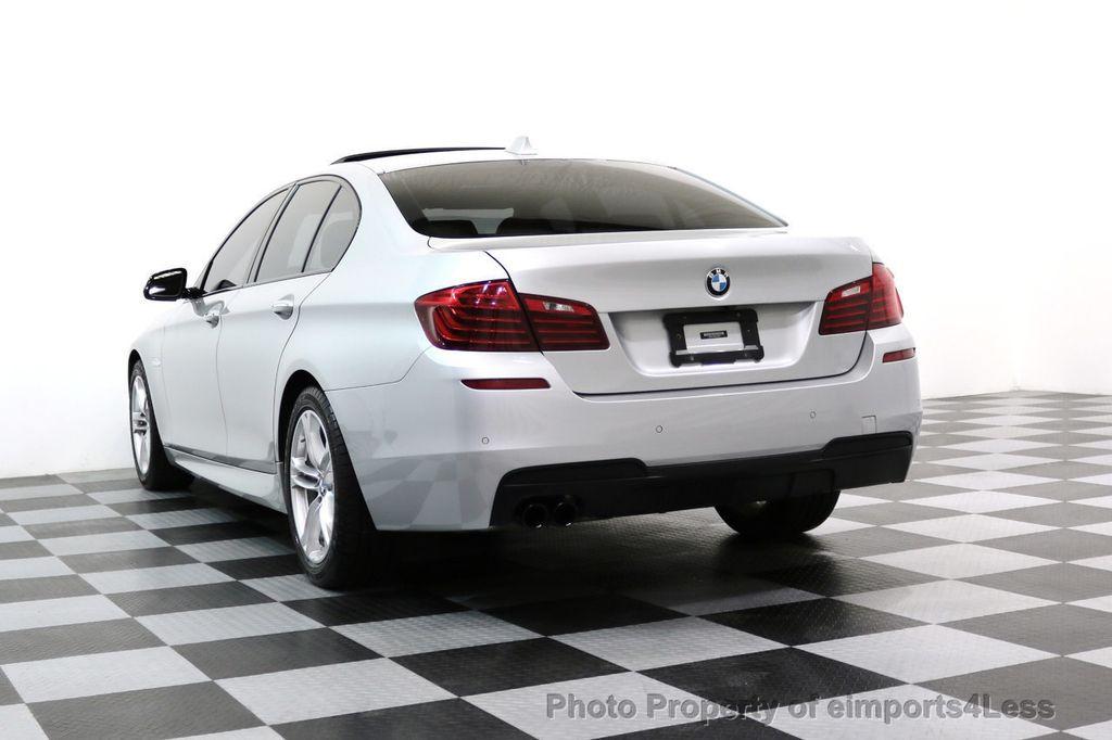 2015 BMW 5 Series CERTIFIED 528i xDRIVE M Sport AWD CAMERA HK NAVI - 17581575 - 56