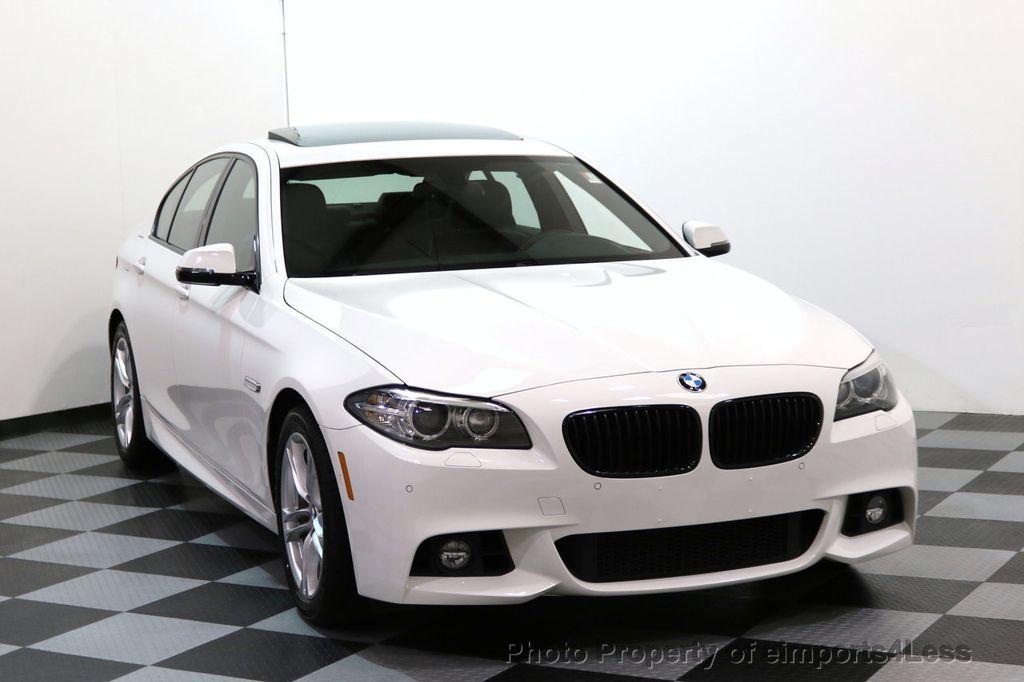 2015 BMW 5 Series CERTIFIED 528i xDRIVE M Sport AWD CAMERA NAVI - 17614155 - 1
