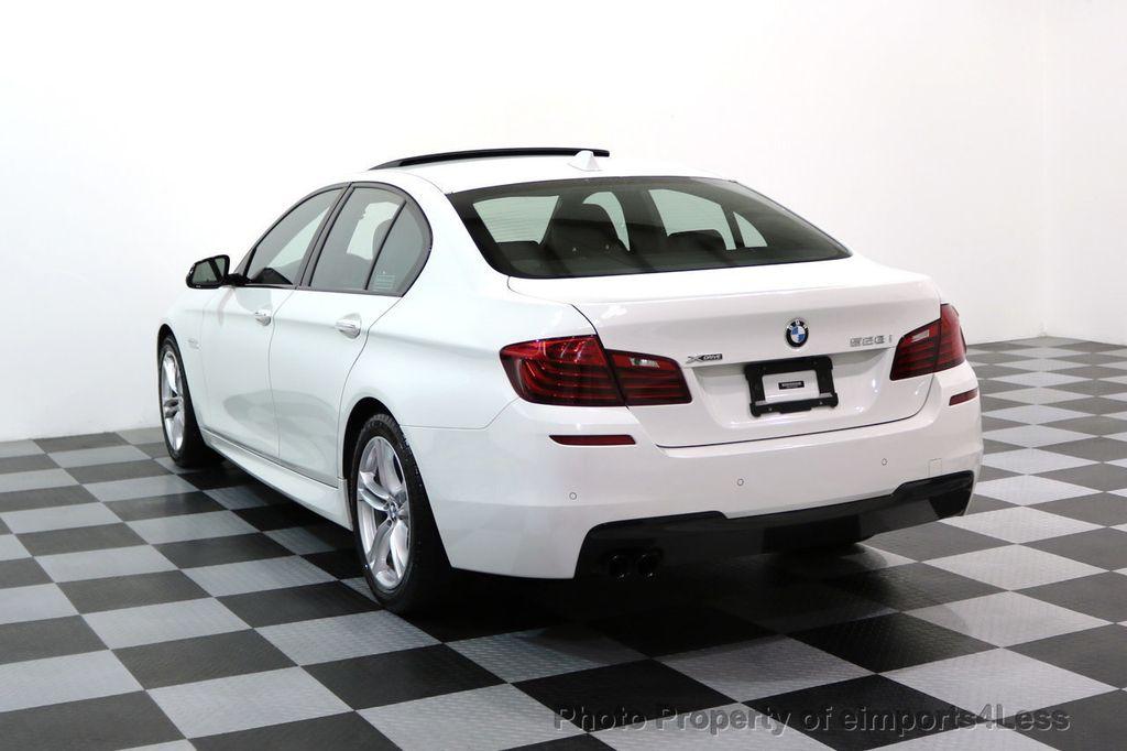 2015 BMW 5 Series CERTIFIED 528i xDRIVE M Sport AWD CAMERA NAVI - 17614155 - 30