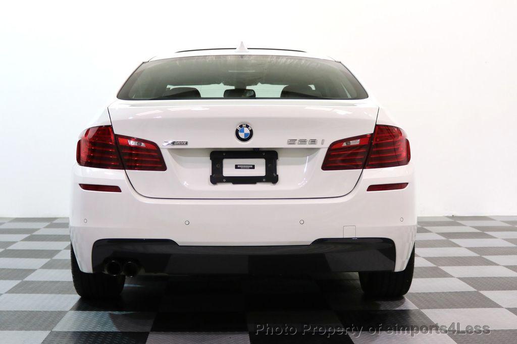 2015 BMW 5 Series CERTIFIED 528i xDRIVE M Sport AWD CAMERA NAVI - 17614155 - 31