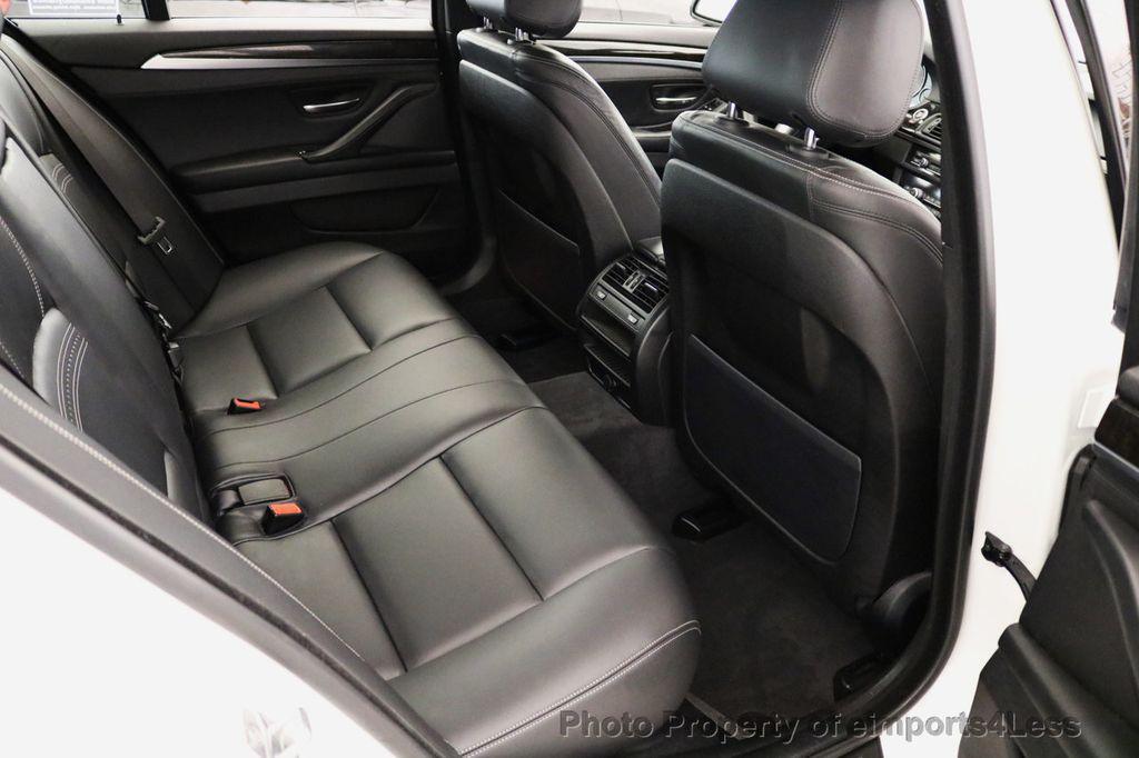 2015 BMW 5 Series CERTIFIED 528i xDRIVE M Sport AWD CAMERA NAVI - 17614155 - 38