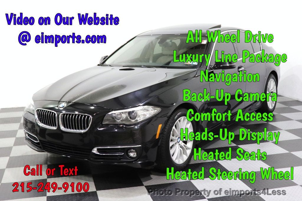2015 BMW 5 Series CERTIFIED 528Xi xDRIVE Luxury Line AWD Driver Assist / NAVI - 14704755 - 0