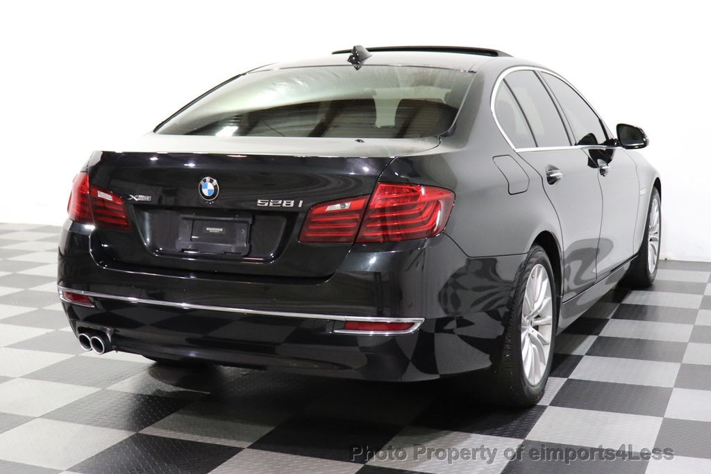 2015 BMW 5 Series CERTIFIED 528Xi xDRIVE Luxury Line AWD Driver Assist / NAVI - 14704755 - 45