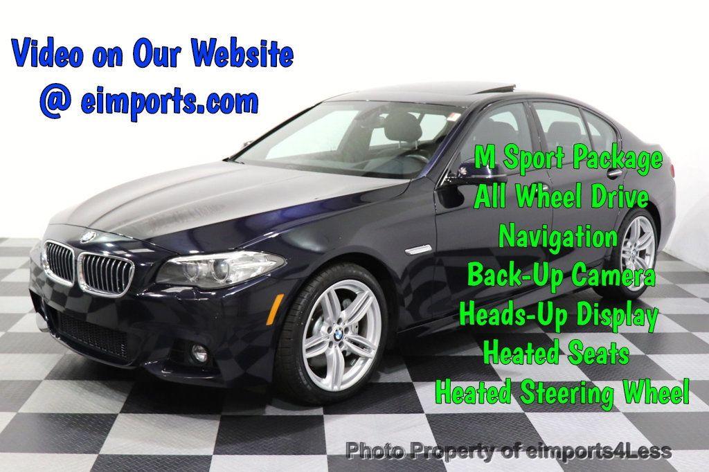 2015 BMW 5 Series CERTIFIED 535i xDrive AWD PREMIUM M SPORT HUD NAV CAM - 18346385 - 0