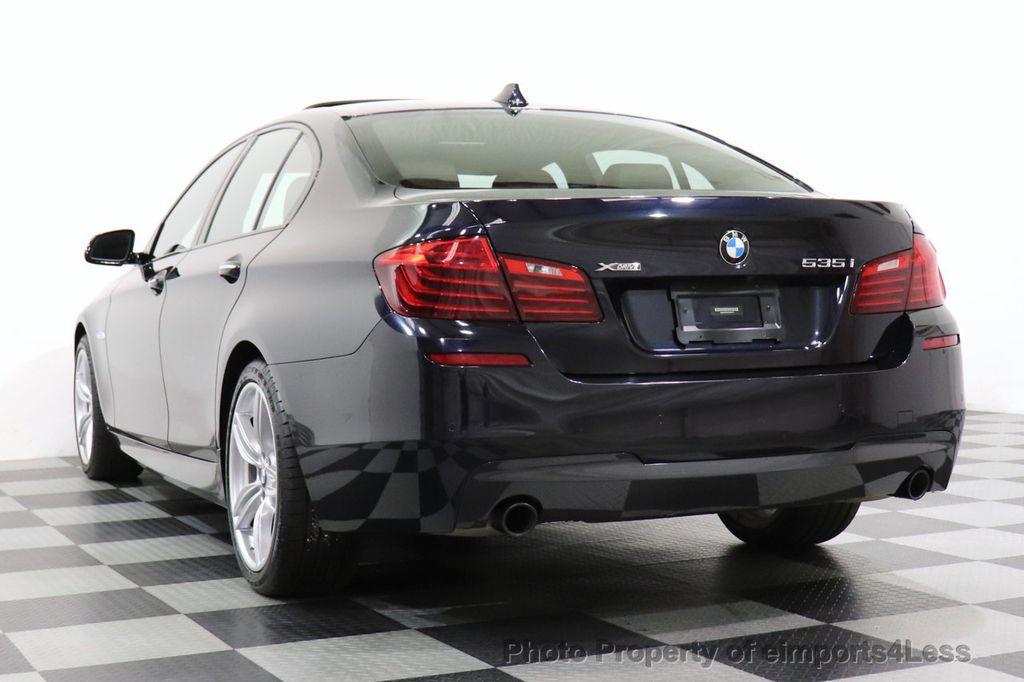 2015 BMW 5 Series CERTIFIED 535i xDrive AWD PREMIUM M SPORT HUD NAV CAM - 18346385 - 13