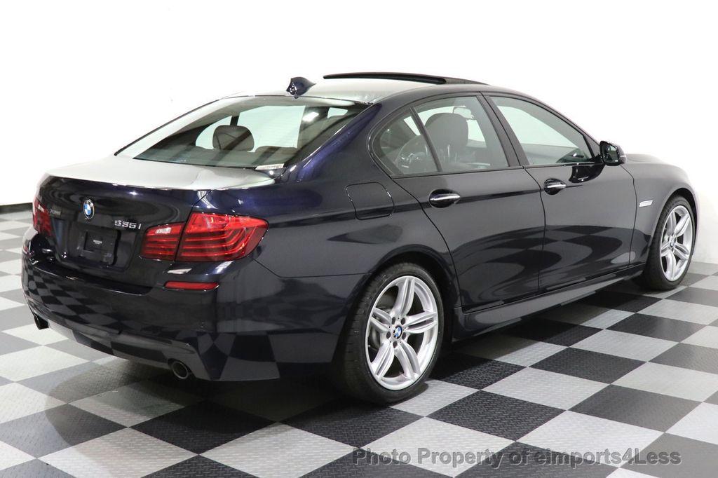 2015 BMW 5 Series CERTIFIED 535i xDrive AWD PREMIUM M SPORT HUD NAV CAM - 18346385 - 15