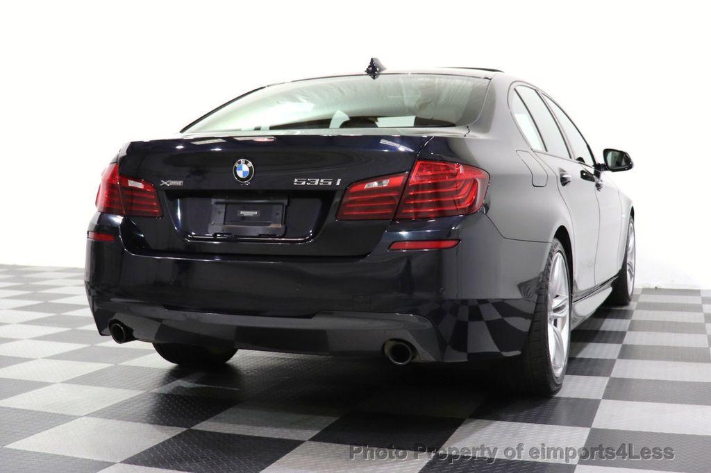 2015 BMW 5 Series CERTIFIED 535i xDrive AWD PREMIUM M SPORT HUD NAV CAM - 18346385 - 26