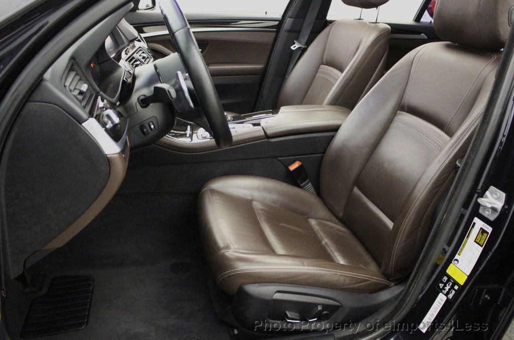 2015 BMW 5 Series CERTIFIED 535i xDrive AWD PREMIUM M SPORT HUD NAV CAM - 18346385 - 32