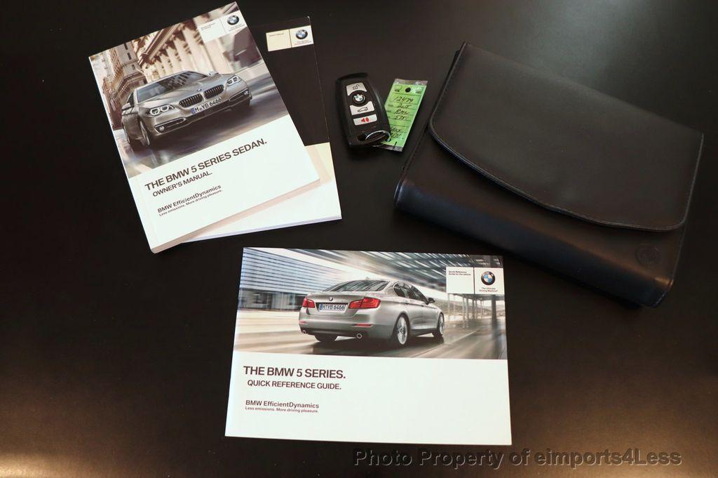 2015 BMW 5 Series CERTIFIED 535i xDrive AWD PREMIUM M SPORT HUD NAV CAM - 18346385 - 34