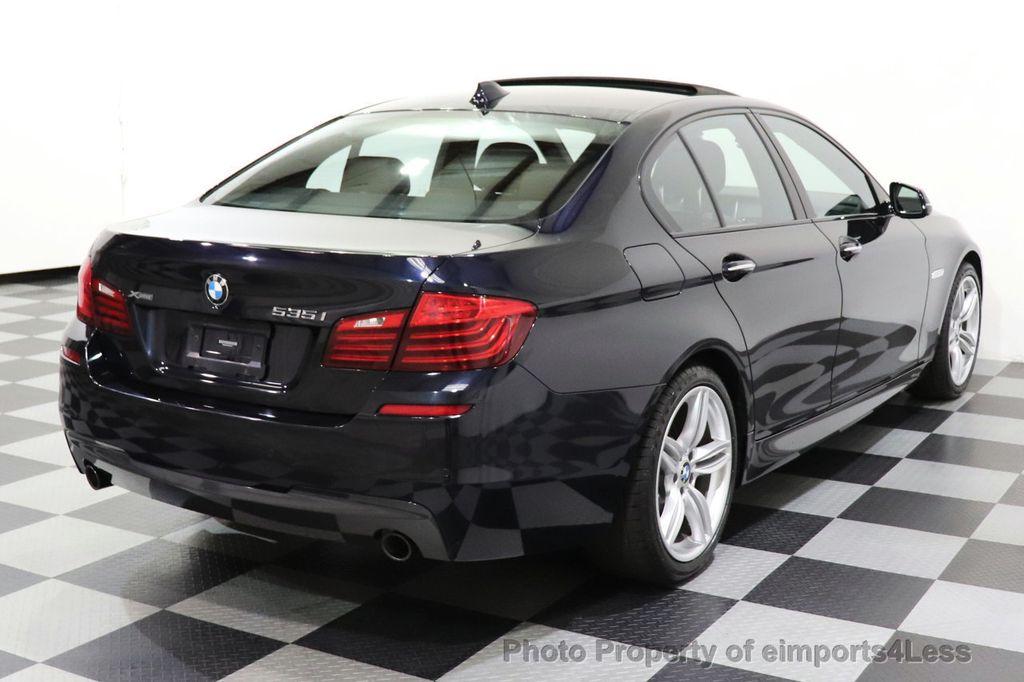 2015 BMW 5 Series CERTIFIED 535i xDrive AWD PREMIUM M SPORT HUD NAV CAM - 18346385 - 38