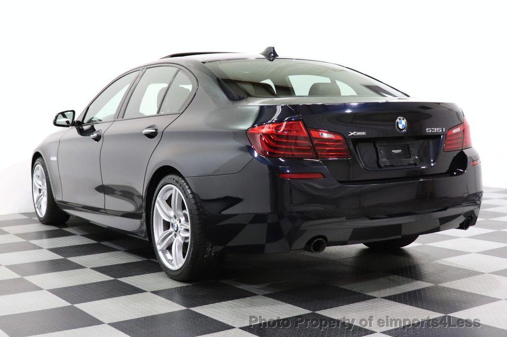 2015 BMW 5 Series CERTIFIED 535i xDrive AWD PREMIUM M SPORT HUD NAV CAM - 18346385 - 3
