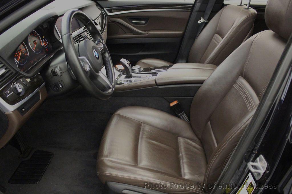 2015 BMW 5 Series CERTIFIED 535i xDrive AWD PREMIUM M SPORT HUD NAV CAM - 18346385 - 39