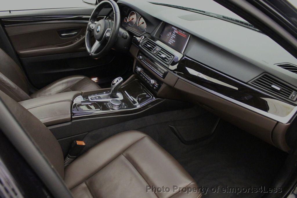 2015 BMW 5 Series CERTIFIED 535i xDrive AWD PREMIUM M SPORT HUD NAV CAM - 18346385 - 40