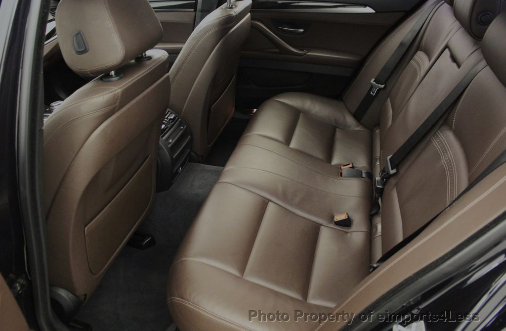2015 BMW 5 Series CERTIFIED 535i xDrive AWD PREMIUM M SPORT HUD NAV CAM - 18346385 - 41