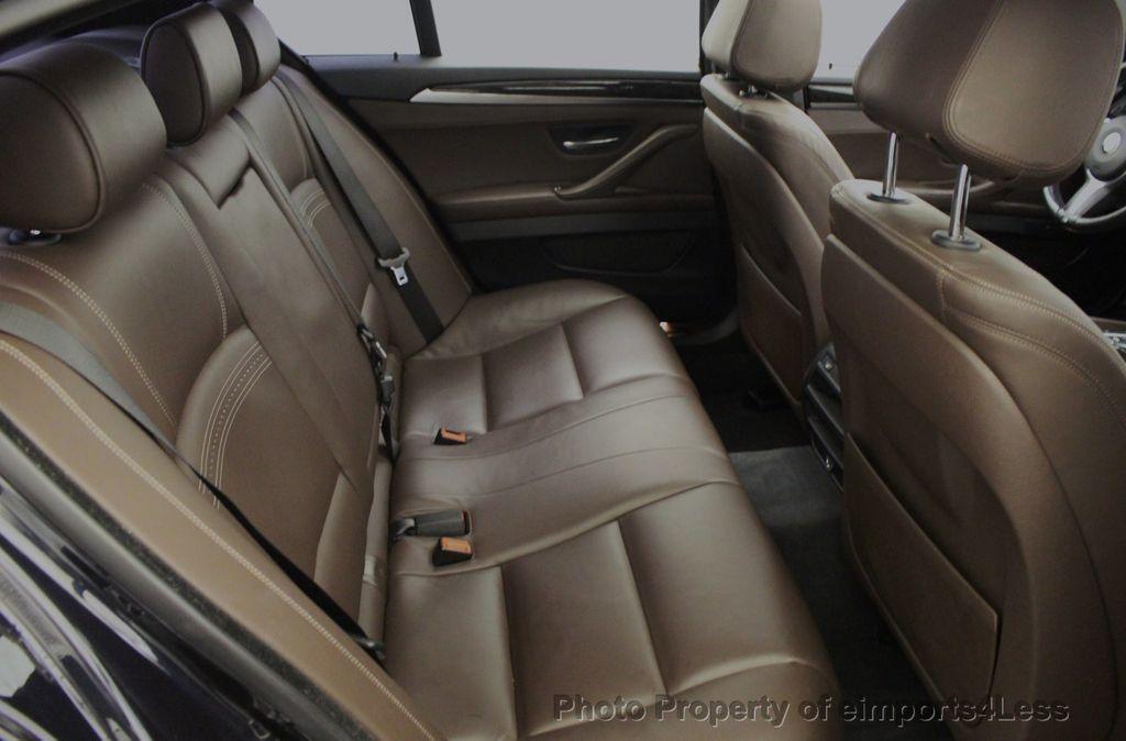 2015 BMW 5 Series CERTIFIED 535i xDrive AWD PREMIUM M SPORT HUD NAV CAM - 18346385 - 42