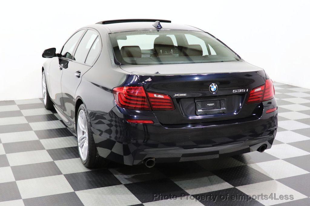 2015 BMW 5 Series CERTIFIED 535i xDrive AWD PREMIUM M SPORT HUD NAV CAM - 18346385 - 45
