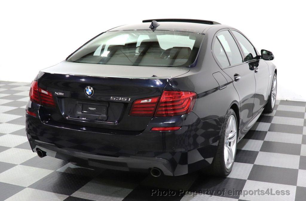 2015 BMW 5 Series CERTIFIED 535i xDrive AWD PREMIUM M SPORT HUD NAV CAM - 18346385 - 46