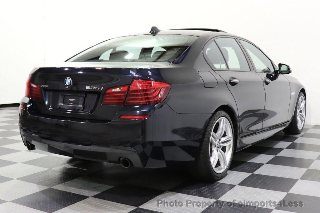 2015 BMW 5 Series CERTIFIED 535i xDrive AWD PREMIUM M SPORT HUD NAV CAM - 18346385 - 4