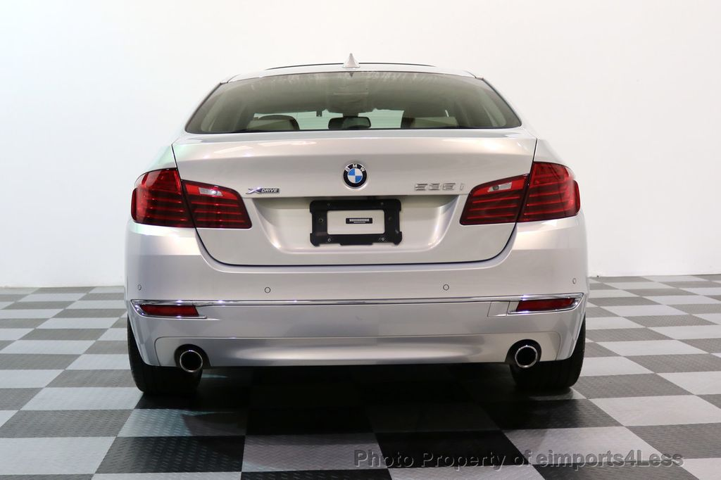 2015 BMW 5 Series CERTIFIED 535i xDRIVE Luxury Line AWD CAMERA HK NAVI - 17614196 - 34