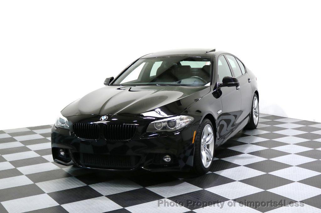 2015 BMW 5 Series CERTIFIED 535i xDRIVE M Sport AWD CAMERA HK NAVI - 17537718 - 0