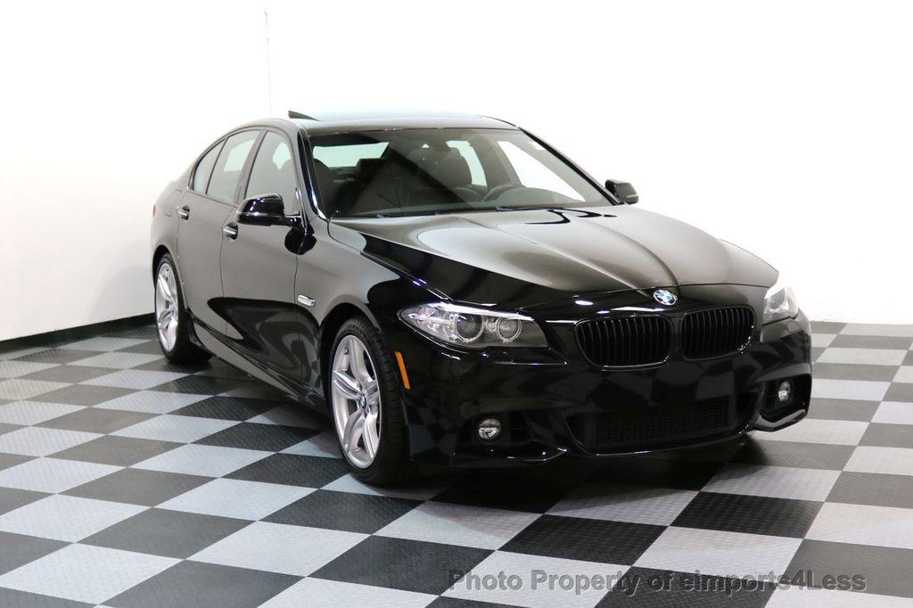 2015 BMW 5 Series CERTIFIED 535i xDRIVE M Sport AWD CAMERA HK NAVI - 17537718 - 1