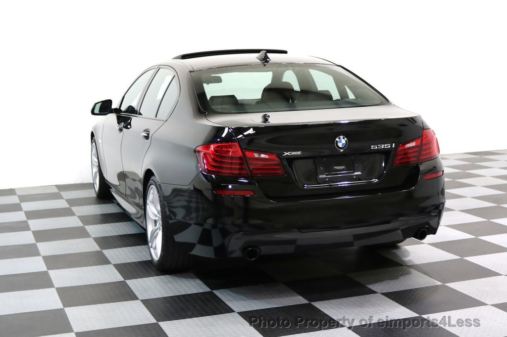2015 BMW 5 Series CERTIFIED 535i xDRIVE M Sport AWD CAMERA HK NAVI - 17537718 - 2