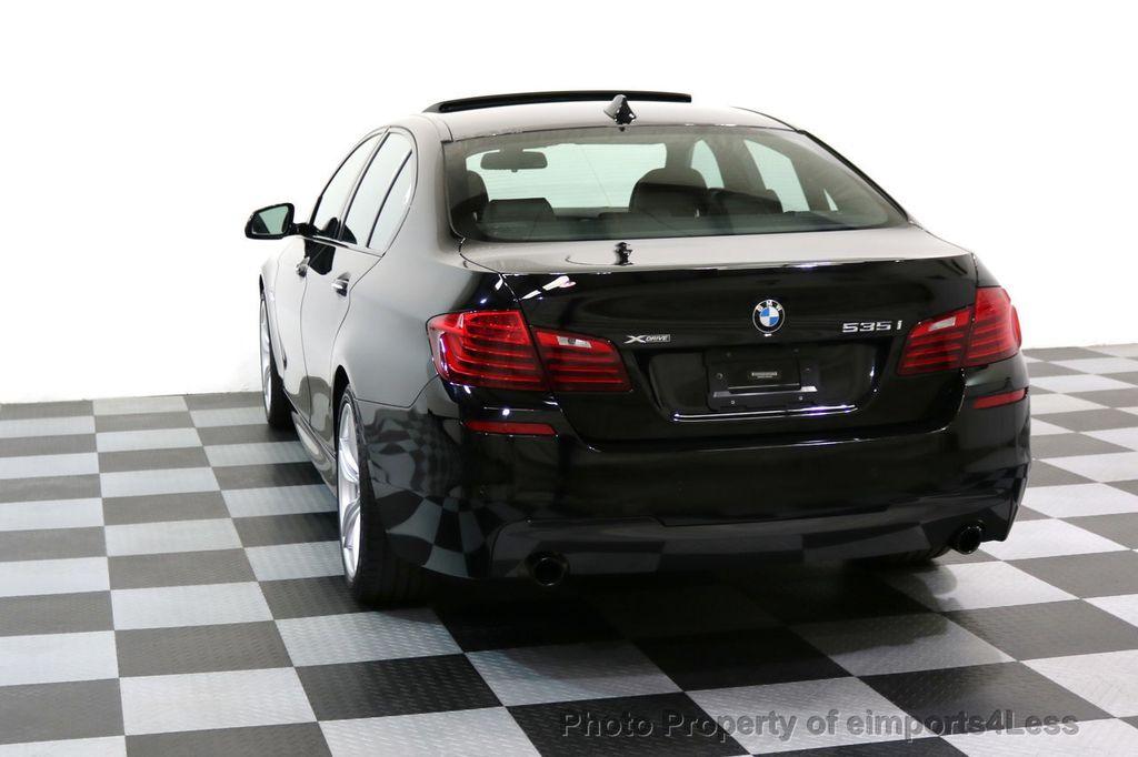 2015 BMW 5 Series CERTIFIED 535i xDRIVE M Sport AWD CAMERA HK NAVI - 17537718 - 31
