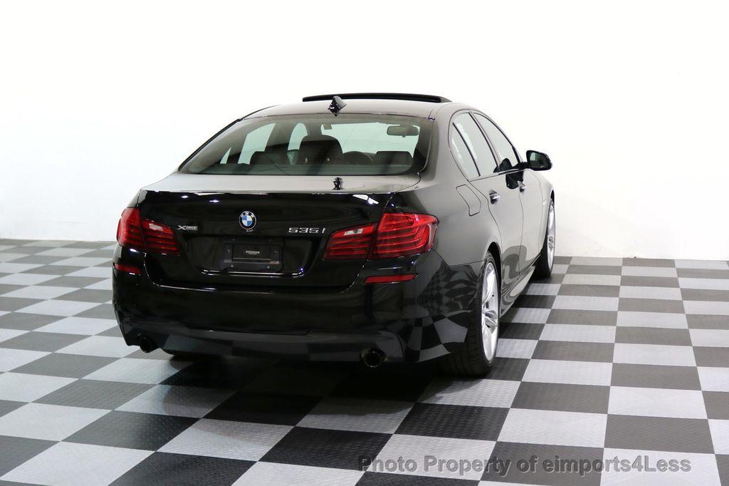 2015 BMW 5 Series CERTIFIED 535i xDRIVE M Sport AWD CAMERA HK NAVI - 17537718 - 33