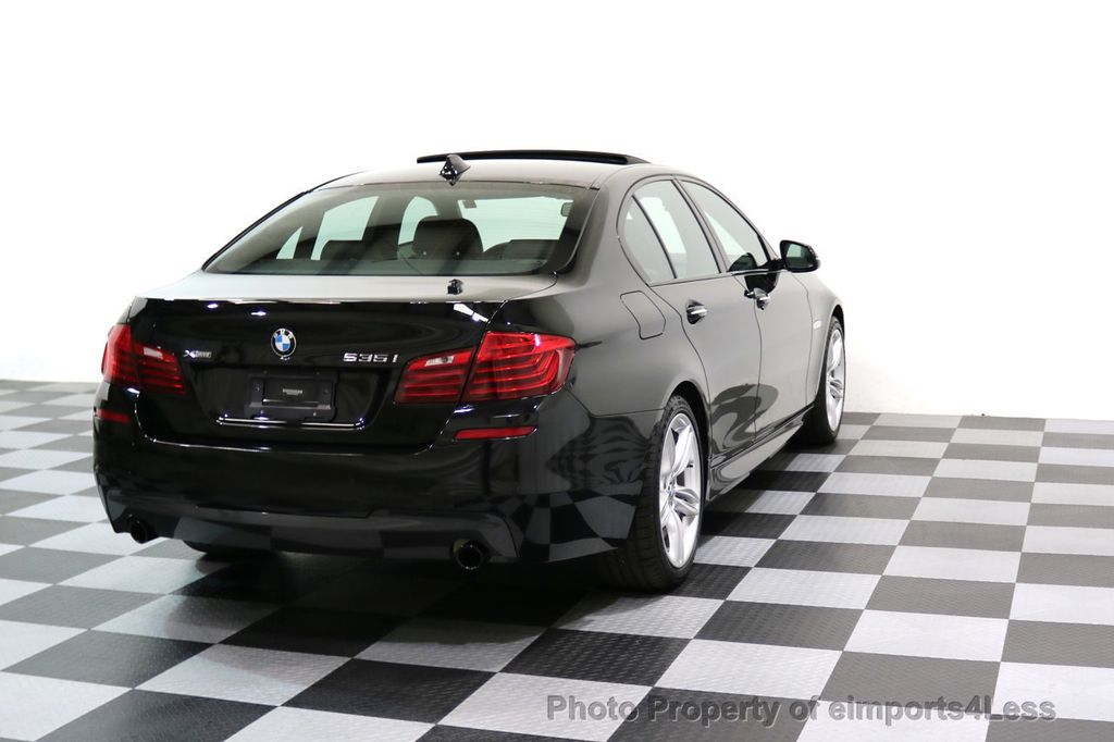 2015 BMW 5 Series CERTIFIED 535i xDRIVE M Sport AWD CAMERA HK NAVI - 17537718 - 3