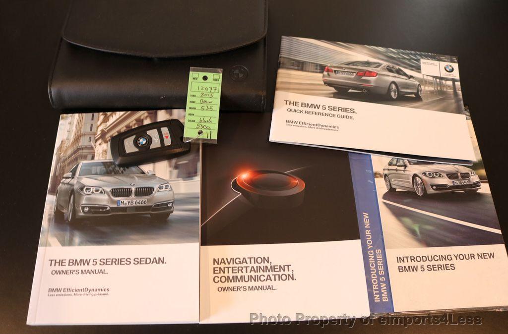 2015 BMW 5 Series CERTIFIED 535i xDRIVE M Sport AWD CAMERA HK NAVI - 17537718 - 39