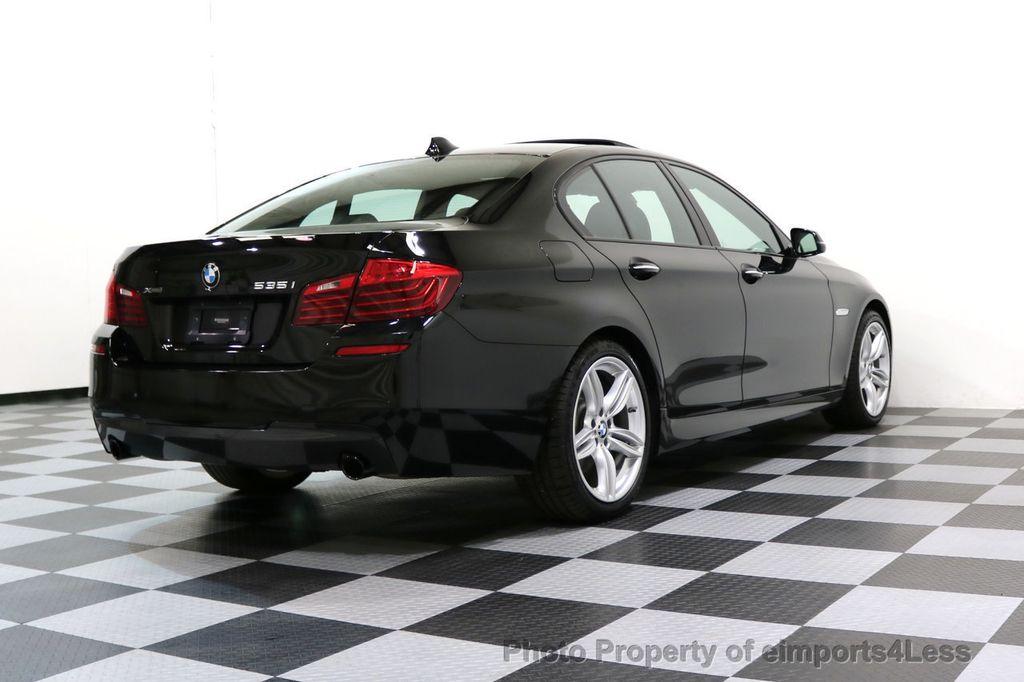 2015 BMW 5 Series CERTIFIED 535i xDRIVE M Sport AWD CAMERA HK NAVI - 17537718 - 46