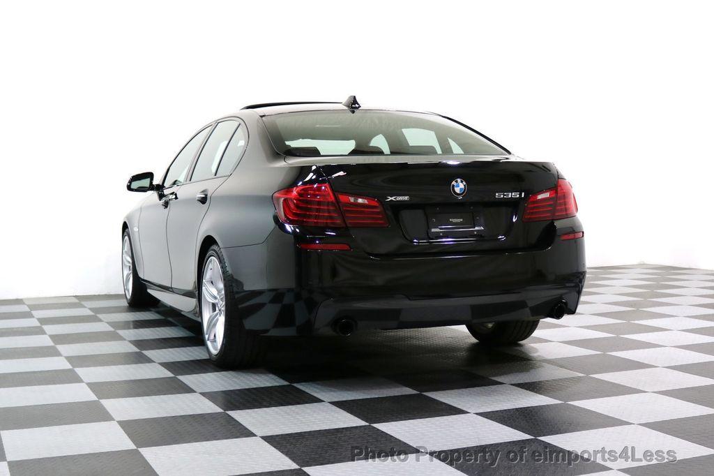 2015 BMW 5 Series CERTIFIED 535i xDRIVE M Sport AWD CAMERA HK NAVI - 17537718 - 54
