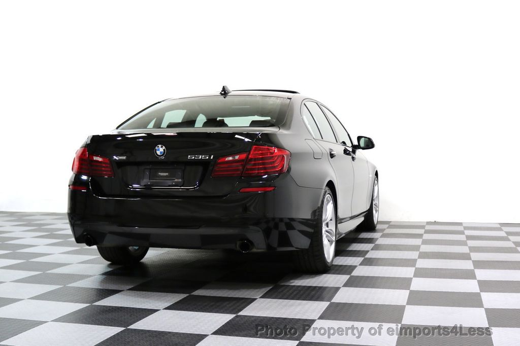 2015 BMW 5 Series CERTIFIED 535i xDRIVE M Sport AWD CAMERA HK NAVI - 17537718 - 55