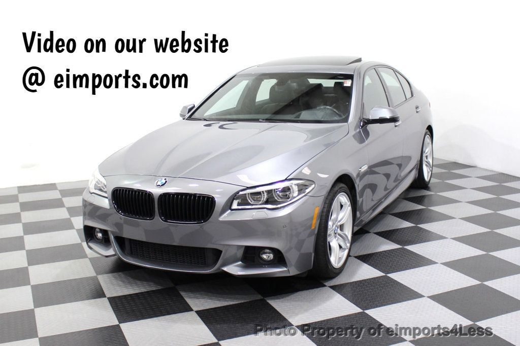 2015 BMW 5 Series CERTIFIED 535i xDRIVE M SPORT LEDs HK CAMERA NAVI - 18032214 - 0