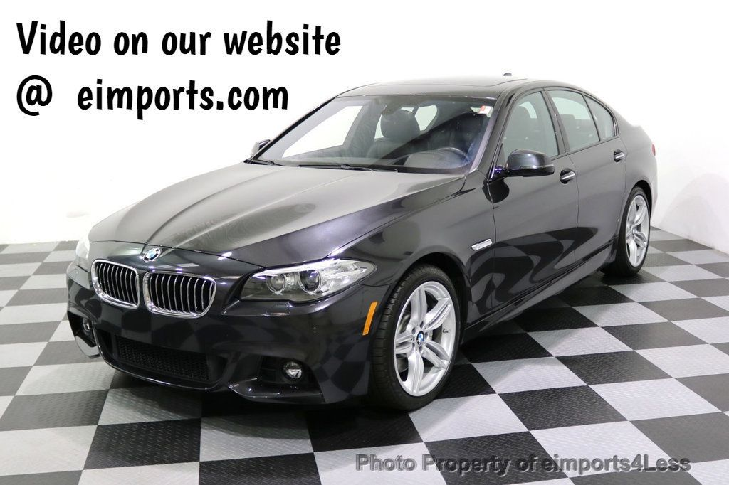 2015 BMW 5 Series CERTIFIED 535i xDRIVE M Sport Package AWD  - 17775876 - 0