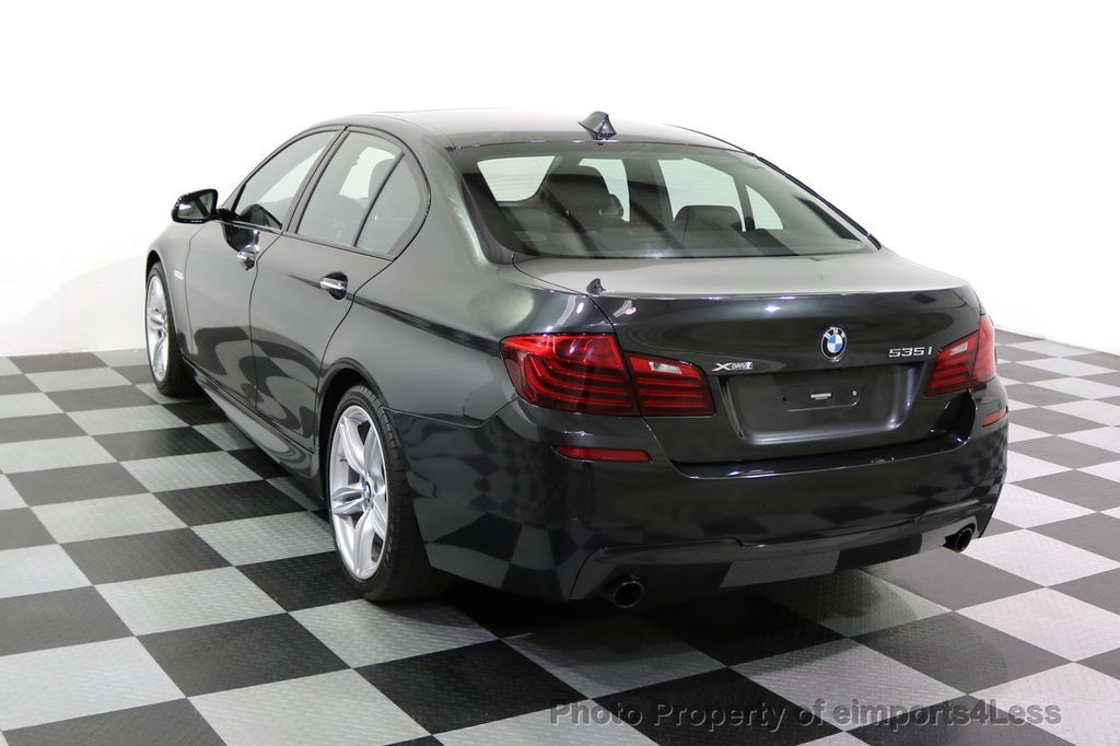 2015 BMW 5 Series CERTIFIED 535i xDRIVE M Sport Package AWD  - 17775876 - 16