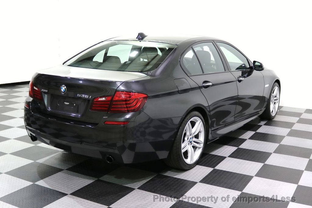 2015 BMW 5 Series CERTIFIED 535i xDRIVE M Sport Package AWD  - 17775876 - 32