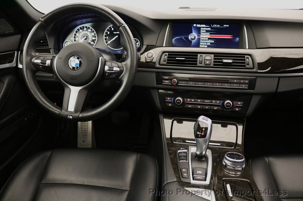 2015 BMW 5 Series CERTIFIED 535i xDRIVE M Sport Package AWD  - 17775876 - 34