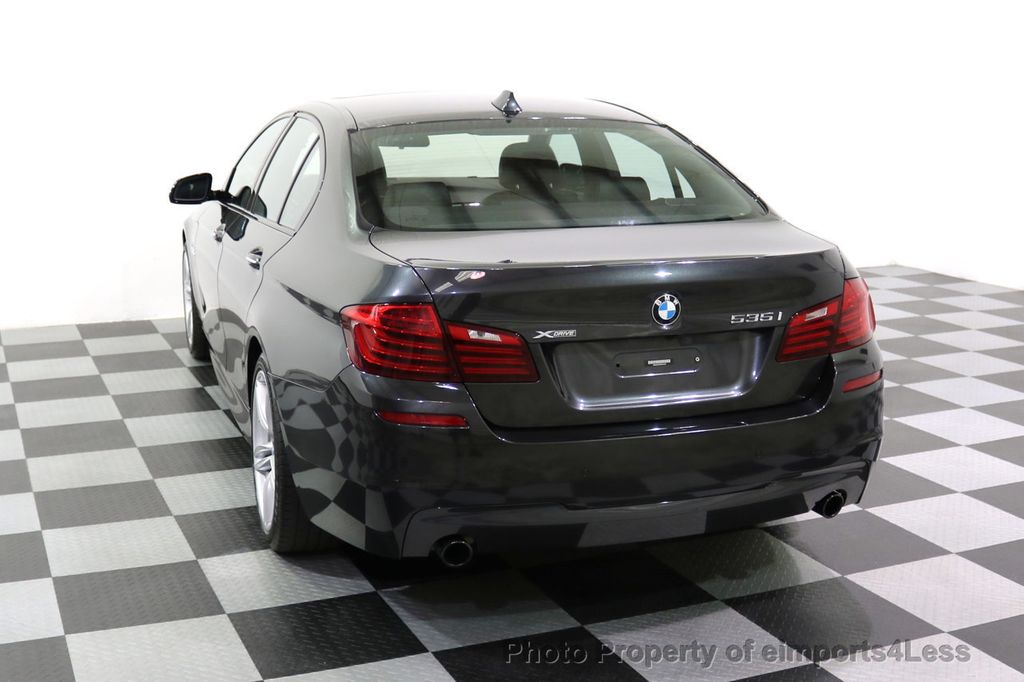 2015 BMW 5 Series CERTIFIED 535i xDRIVE M Sport Package AWD  - 17775876 - 46