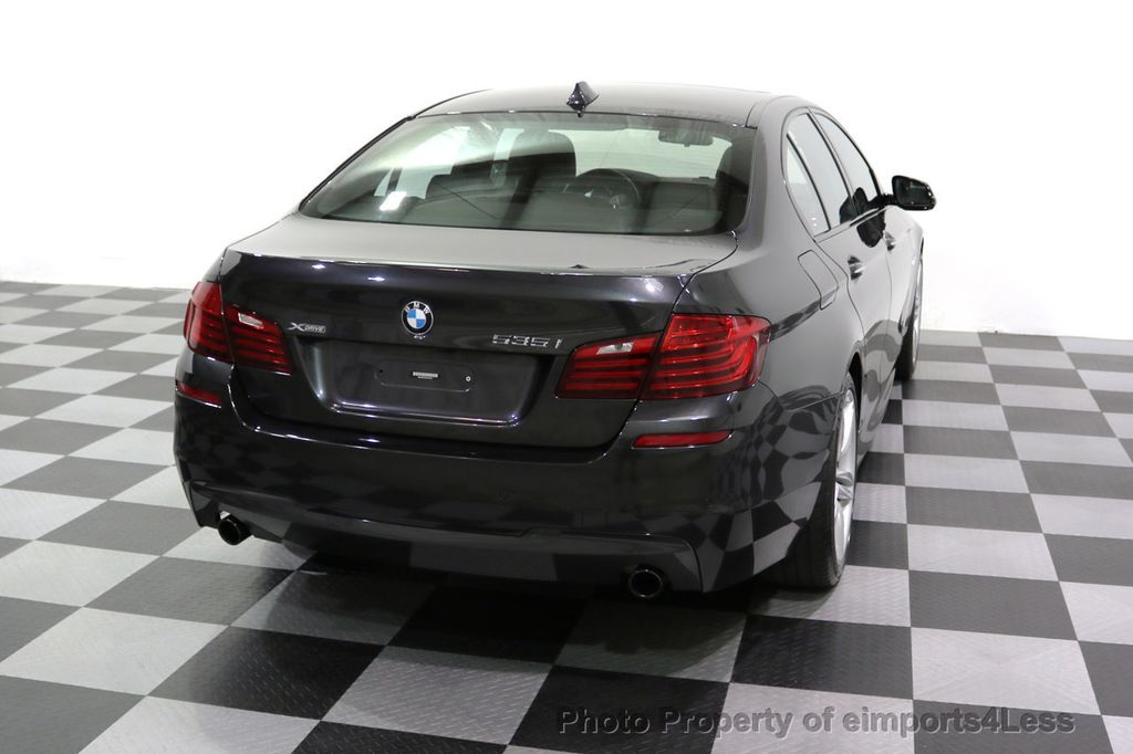 2015 BMW 5 Series CERTIFIED 535i xDRIVE M Sport Package AWD  - 17775876 - 47