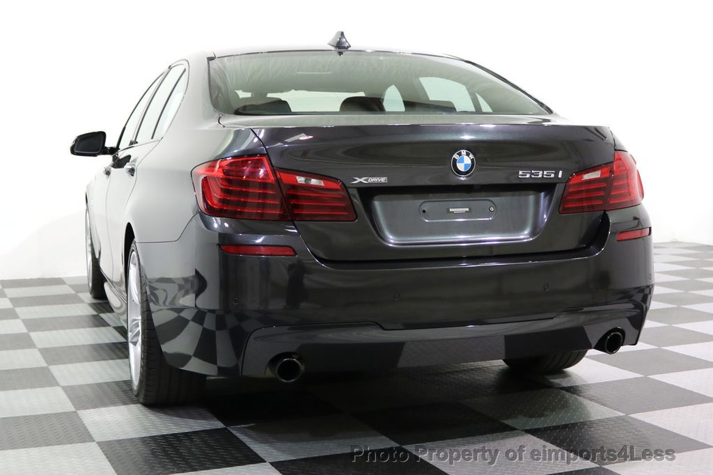 2015 BMW 5 Series CERTIFIED 535i xDRIVE M Sport Package AWD  - 17775876 - 54