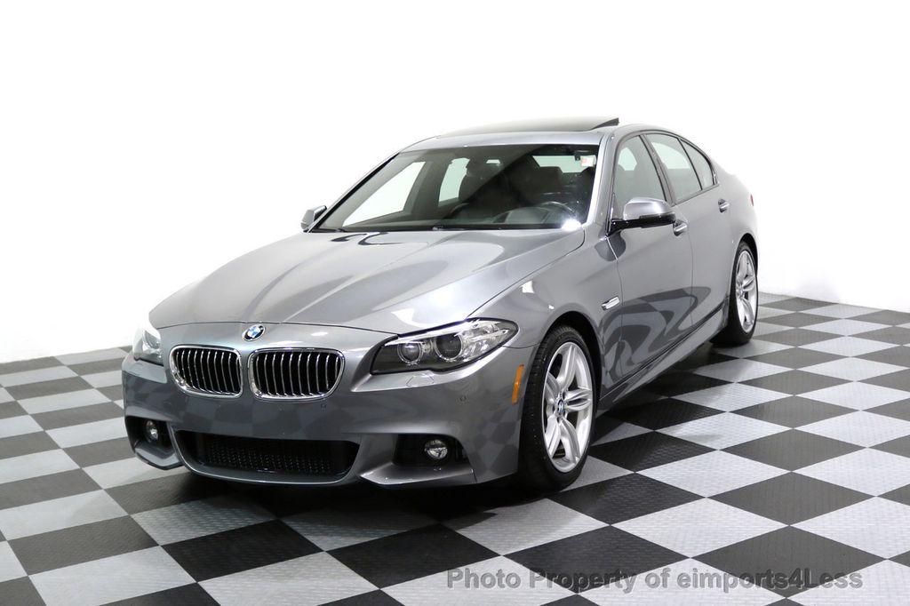 2015 BMW 5 Series CERTIFIED 535i xDRIVE M Sport Package AWD CAMERA NAVI - 17425276 - 0