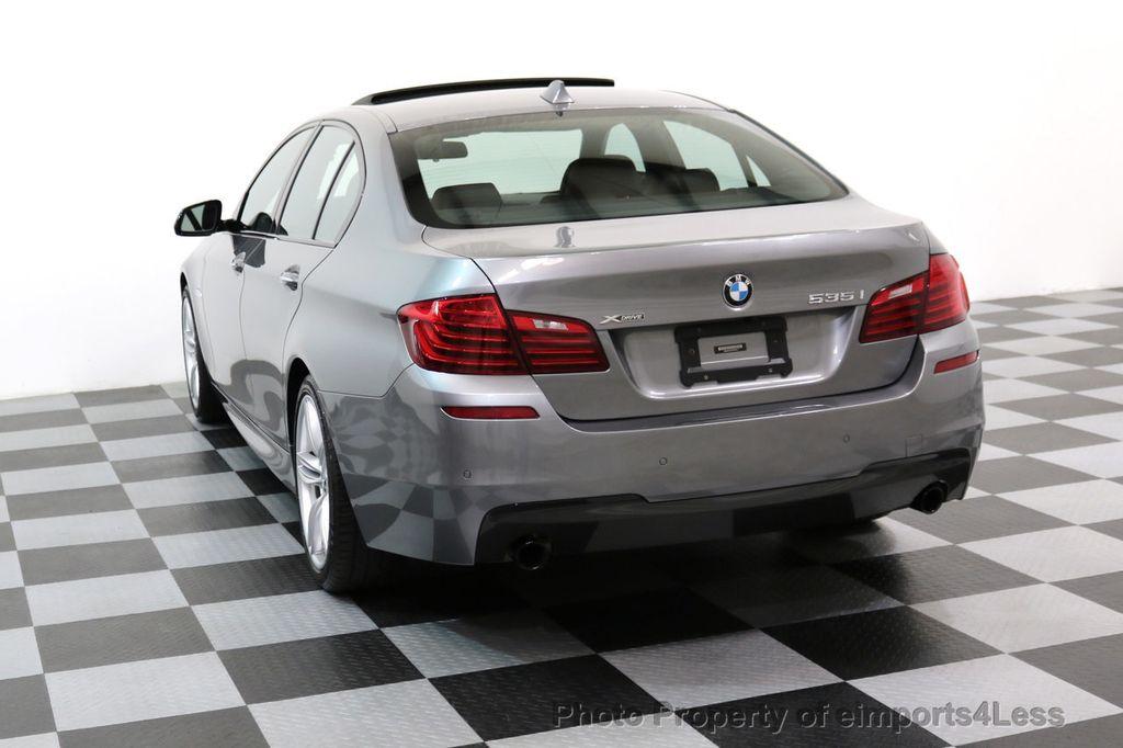 2015 BMW 5 Series CERTIFIED 535i xDRIVE M Sport Package AWD CAMERA NAVI - 17425276 - 16