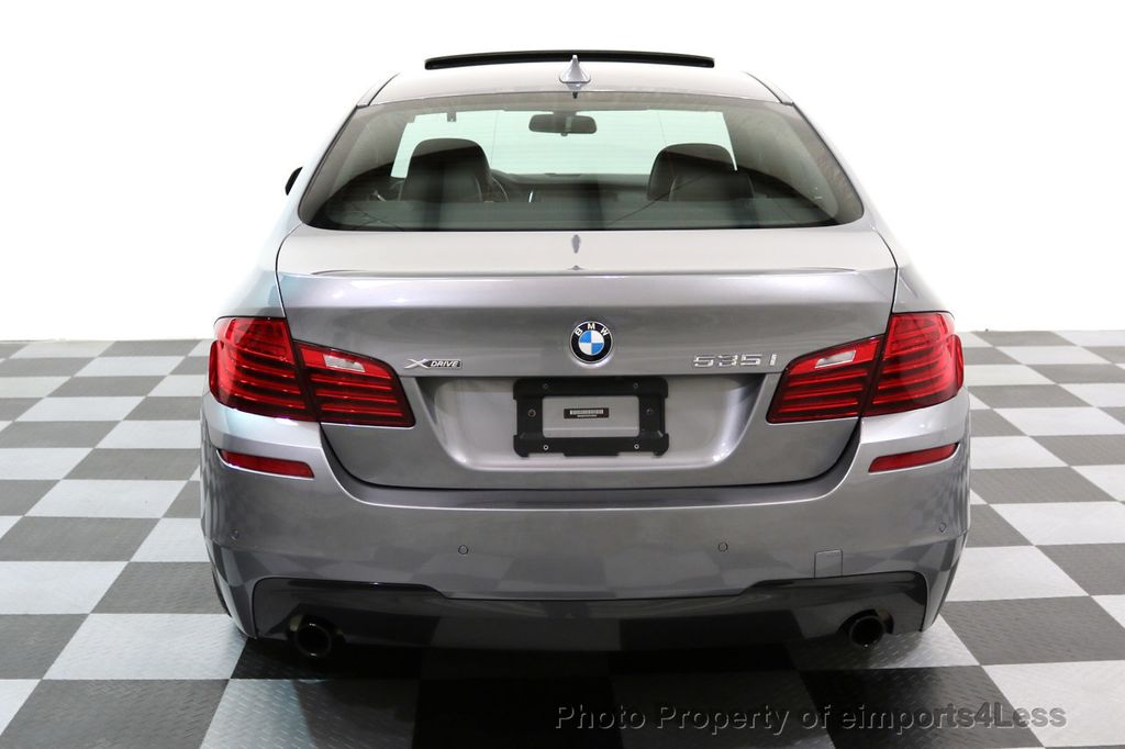 2015 BMW 5 Series CERTIFIED 535i xDRIVE M Sport Package AWD CAMERA NAVI - 17425276 - 17