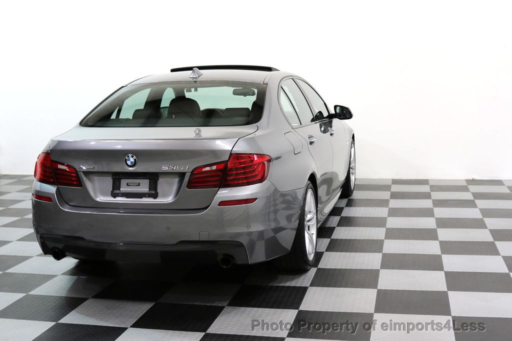 2015 BMW 5 Series CERTIFIED 535i xDRIVE M Sport Package AWD CAMERA NAVI - 17425276 - 18