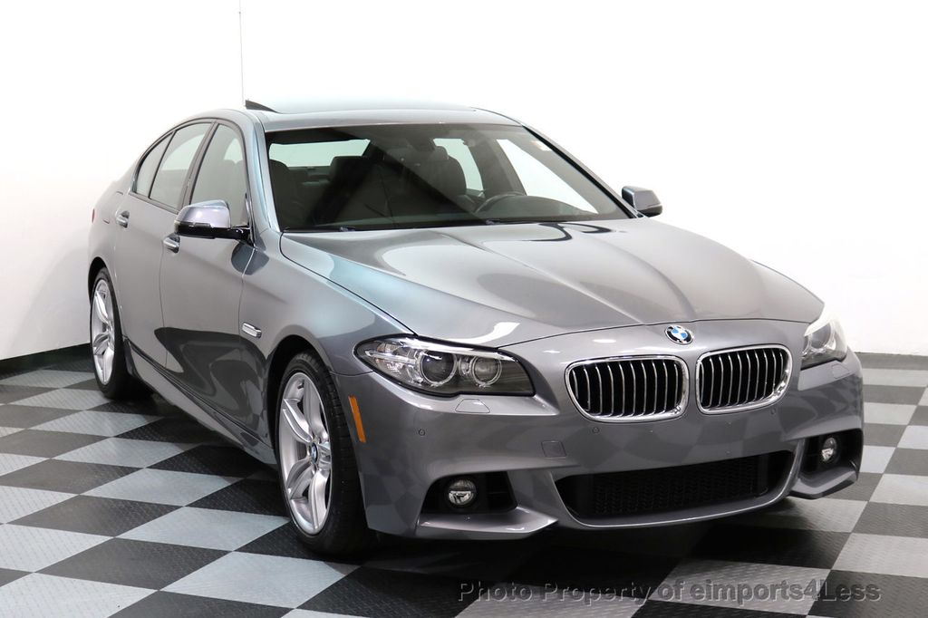 2015 BMW 5 Series CERTIFIED 535i xDRIVE M Sport Package AWD CAMERA NAVI - 17425276 - 1